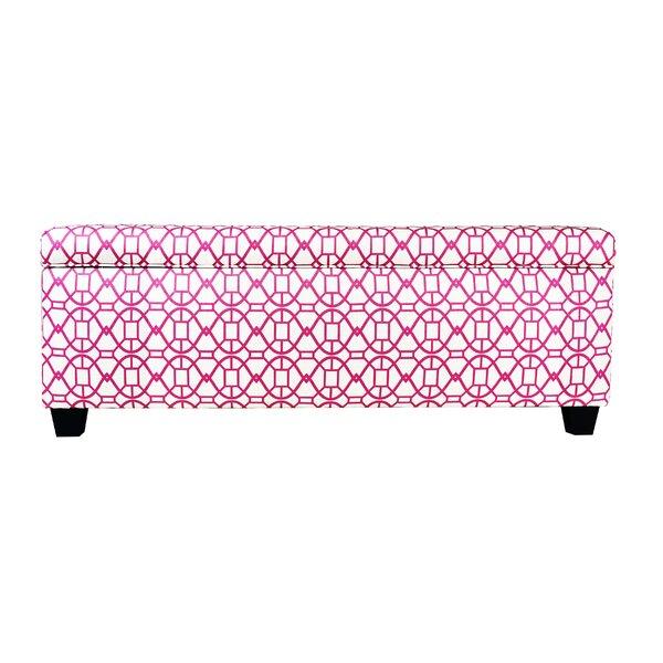 Seguis Upholstered Storage Bench by Red Barrel Studio