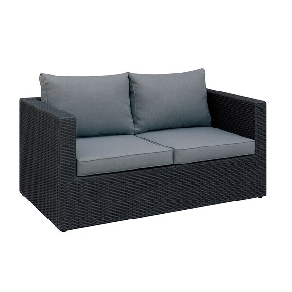 Lykens Patio Sofa with Cushions by Brayden Studio