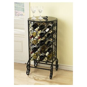 Fox 15 Bottle Floor Wine Rack by Alcott Hill