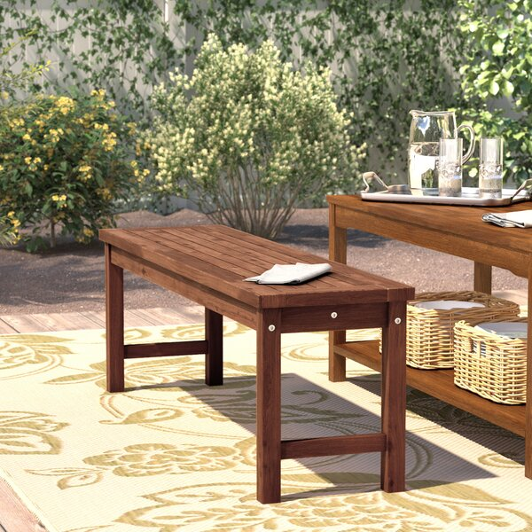Widmer Patio Dining Bench by Darby Home Co