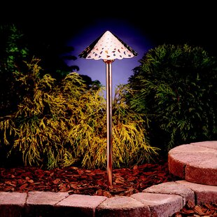 Buy clear Copper 1-Light LED Pathway Light By Kichler