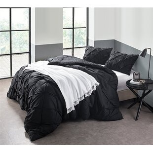 comforter sets uplifted drama bedding purple white black comforters and