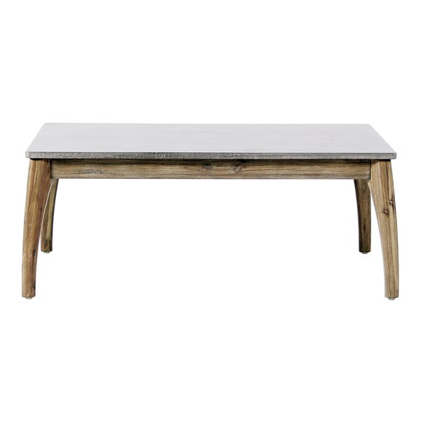Wings Synthetic Stone Coffee Table by Seasonal Living