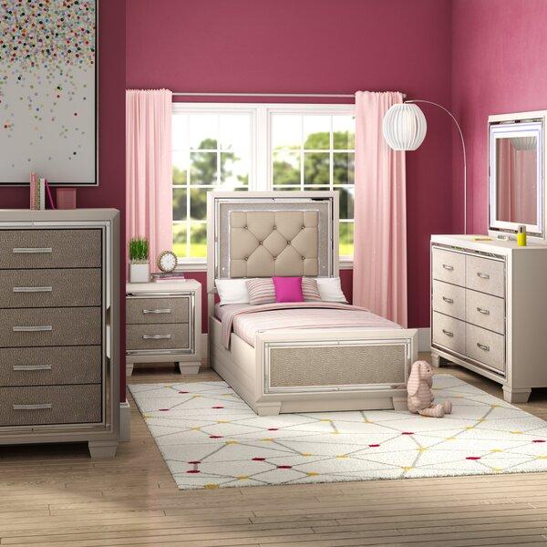 Domenick Platform 5 Piece Wood Bedroom Set by Rosdorf Park