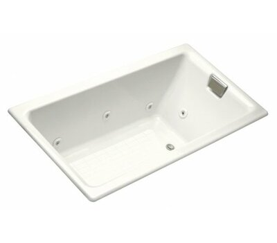Tea For Two Drop In Whirlpool Bath With Reversible Drain, Custom Pump And  Heater Without Trim