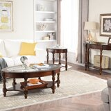 Lucy 3 Piece Coffee Table Set by Canora Grey