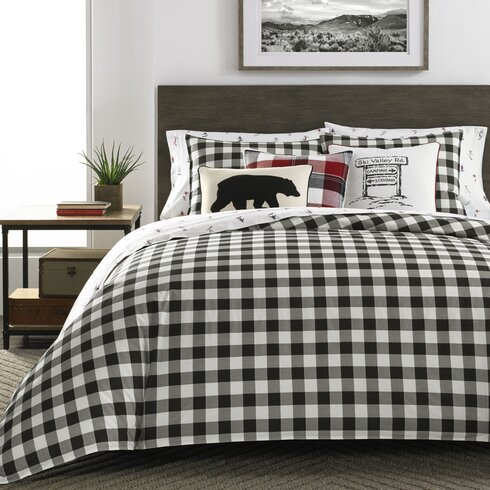Eddie Bauer Mountain 100 Cotton Reversible Comforter Set