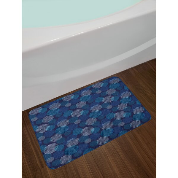 Modern Digital Abstract Bath Rug by East Urban Home
