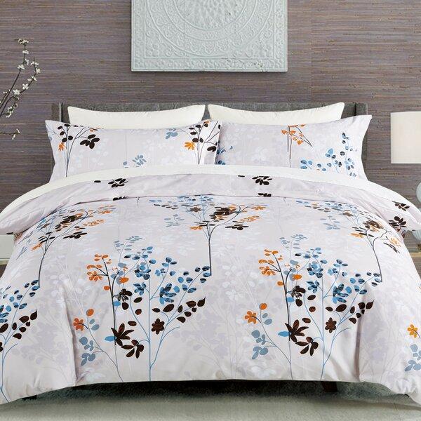 Fazeley Wildflowers Duvet Set by Ebern Designs