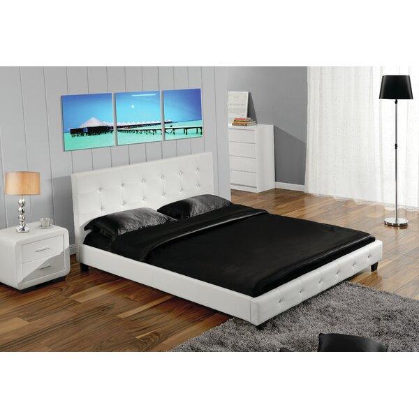 Mckeon Button Tufted Full Upholstered Panel Configurable Bedroom Set by Orren Ellis