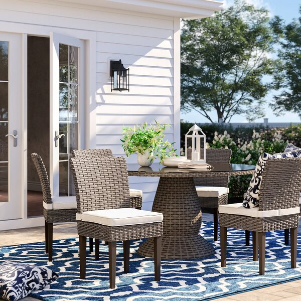 Rockport 7 Piece Dining Set with Cushions by Sol 72 Outdoor
