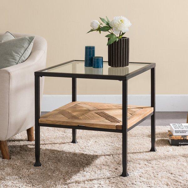 Lia End Table by Gracie Oaks