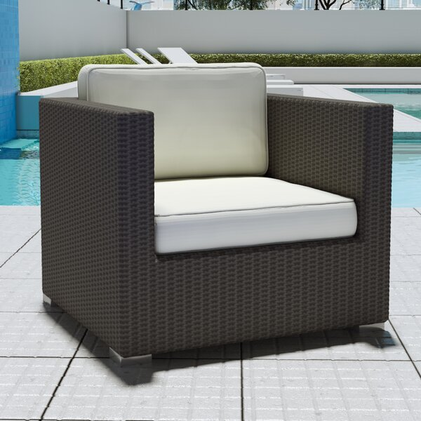 Outdoor Arm Chair with Cushion by UrbanMod