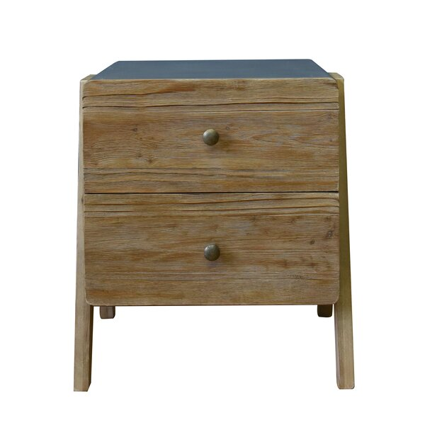 Ulibarri Wooden End Table with Storage by Wrought Studio Wrought Studio