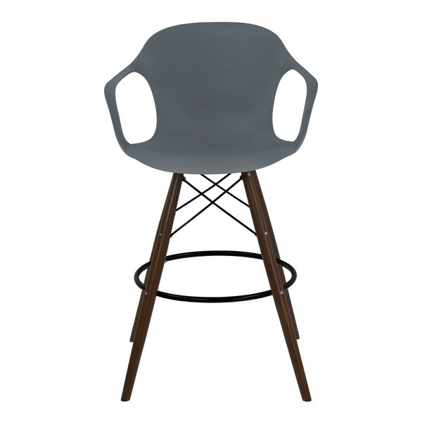 Rosenthal 39.37 Bar Stool by Brayden Studio