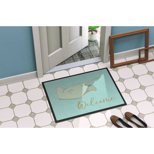 Santana Welcome Doormat by Bay Isle Home