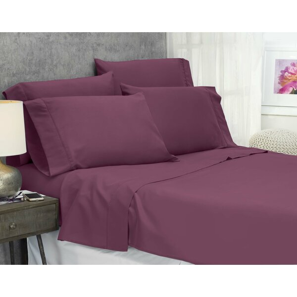 Cayetano Luxury Ultra Comfort 1500 Thread Count Sheet Set by Ebern Designs