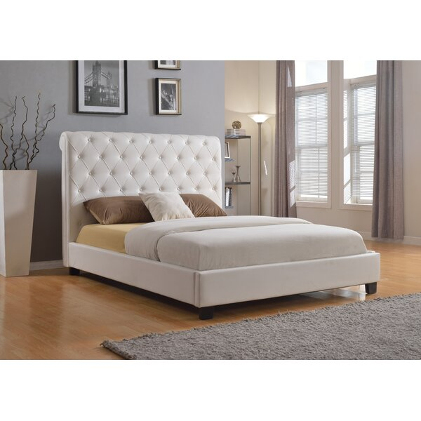 Fernly Upholstered Platform Bed By Winston Porter Great price