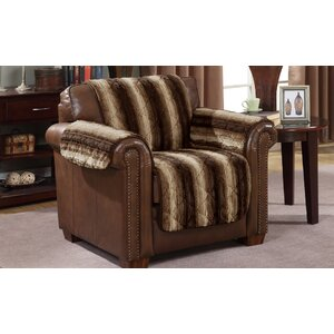 Luxury Box Cushion Armchair Slipcover
