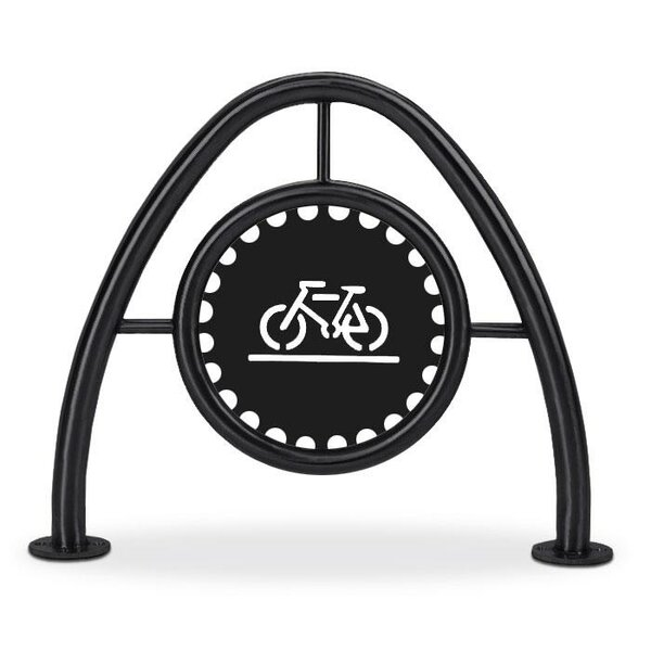 2 Bike Freestanding Bike Rack by Anova