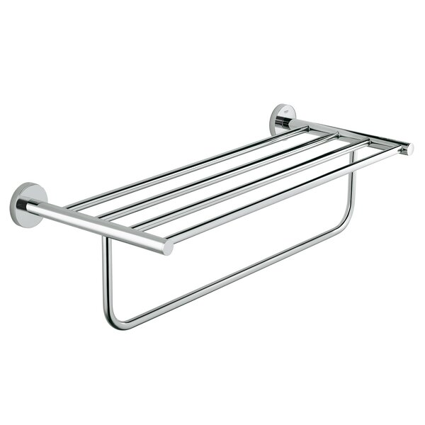 BauCosmopolitan Wall Mounted Towel Rack by Grohe