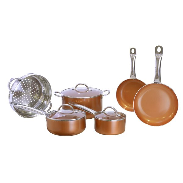 10 Piece Cookware Set by Eternal