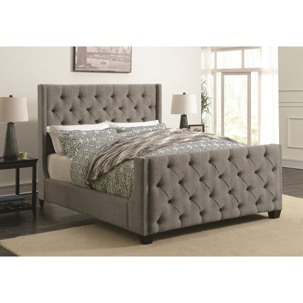 Lattin Coaster Upholstered Standard Bed by Alcott Hill