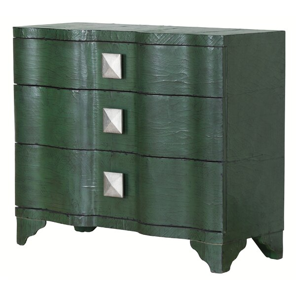 Swett 3 Drawer Accent Chest By World Menagerie