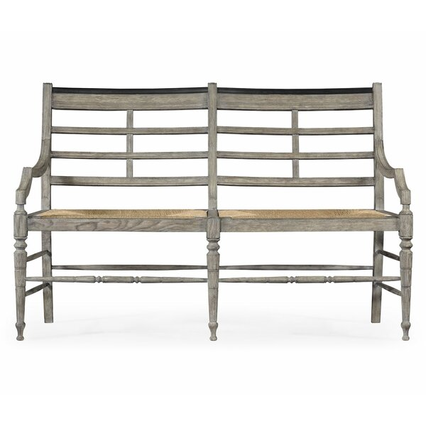 Marshfield Oak Wood Bench by Jonathan Charles Fine Furniture