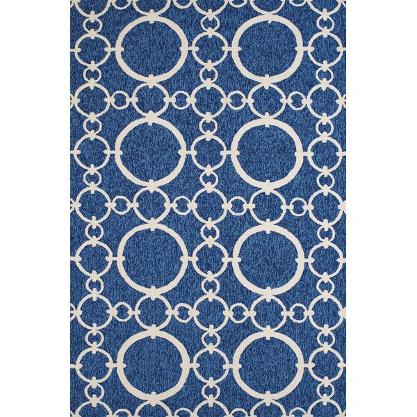 Chainweaver Hand-Woven Blue Indoor/Outdoor Area Rug by Panama Jack Home