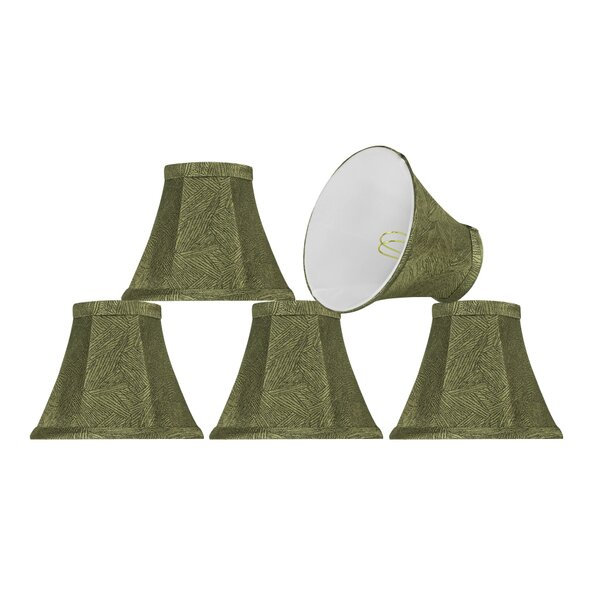 6'' Fabric Bell Lamp Shade (Set of 5) by Bay Isle Home