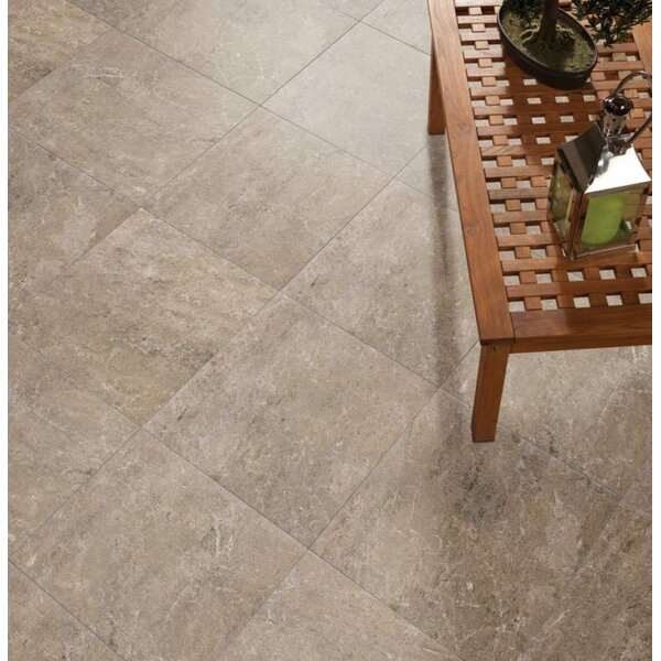 Alara 18 x 18 Ceramic Field Tile in Beige by QDI Surfaces