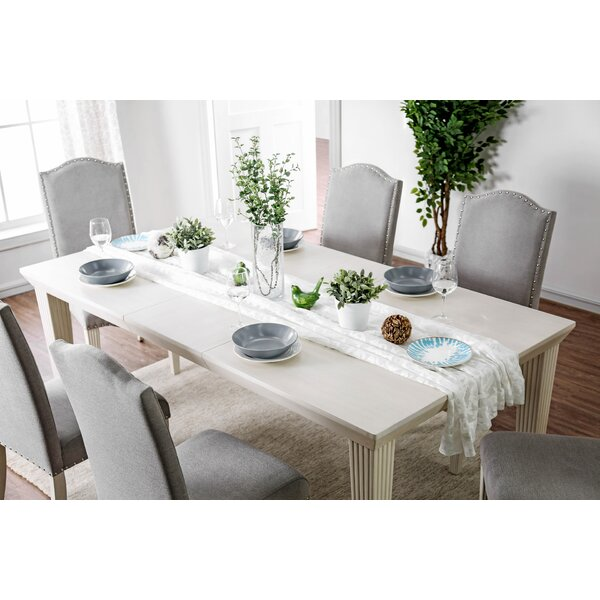 Mercedes Extendable Dining Table by One Allium Way