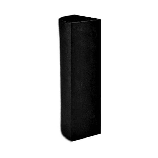 Corner Modular Cylinder Resin Stone Pot Planter by Amedeo Design