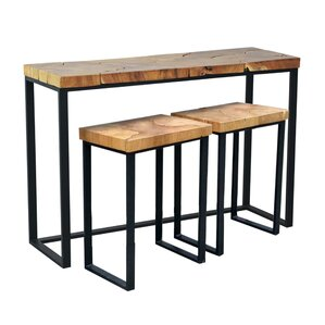 Hoekstra Console Table and Stool Set by Brayden Studio