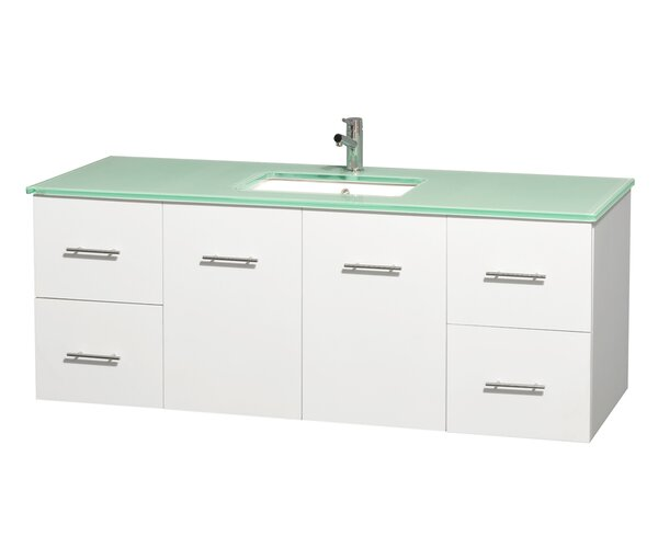 Centra 60 Single Bathroom Vanity Set by Wyndham Collection