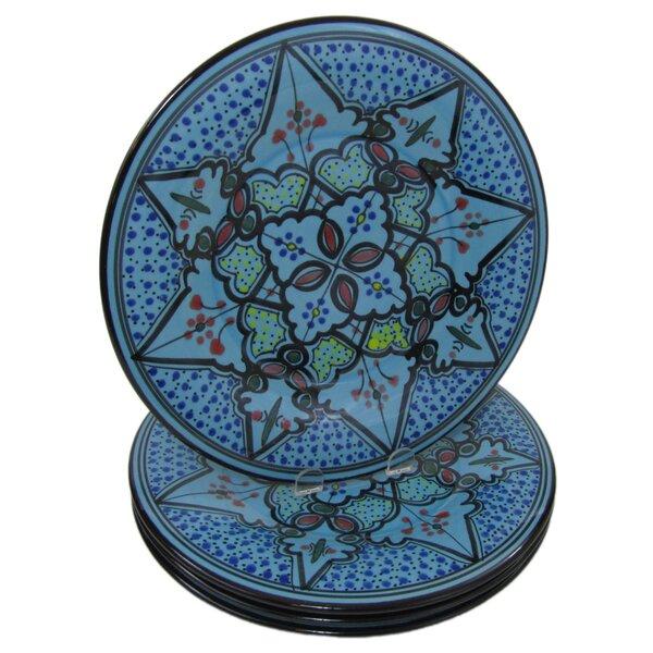 Sabrine Stoneware 11 Dinner Plate (Set of 4) by Le Souk Ceramique