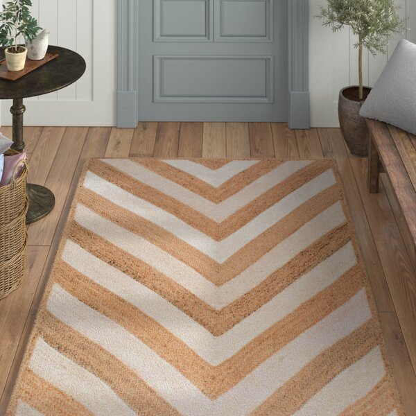Cassandra Hand-Woven Natural Area Rug by Laurel Foundry Modern Farmhouse