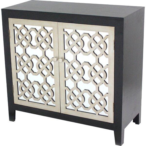 Gaia 2 Door Wood Accent Cabinet