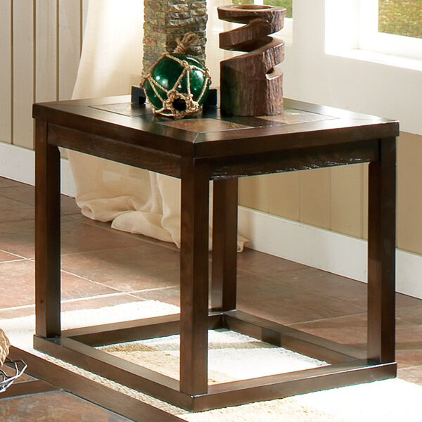 Whiteweed End Table by Bay Isle Home