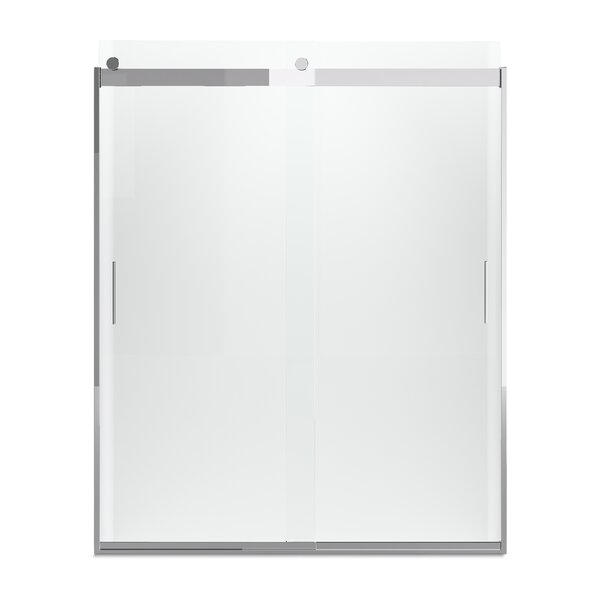 Levity 74 x 59.63 Bypass Shower Door with CleanCoat® Technology by Kohler