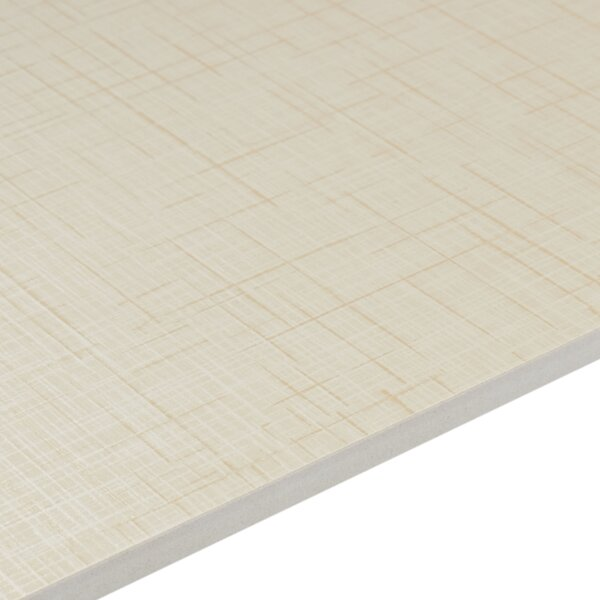 Cantrell 24 x 24 Porcelain Field Tile in Rice Paper by Itona Tile