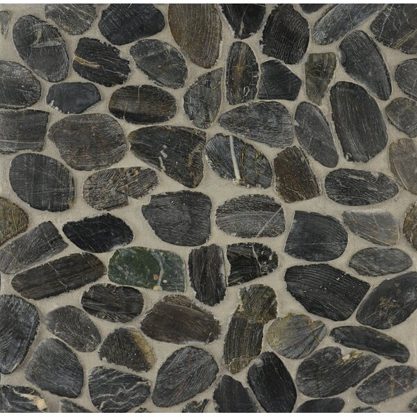 Pebble Random Sized Stone Tile in Batuan by Grayson Martin