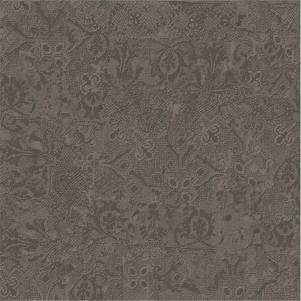 Tapis Gris Fonce 23.5 x 23.5 Porcelain Fabric Look Tile in Dark Gray by The Bella Collection