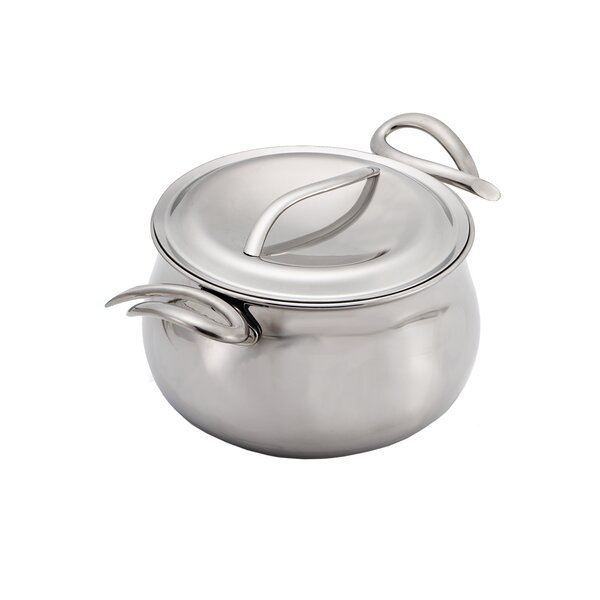 Cookserv 5-qt. Stock Pot with Lid by Nambe