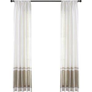 Wren Linen Single Curtain Panel