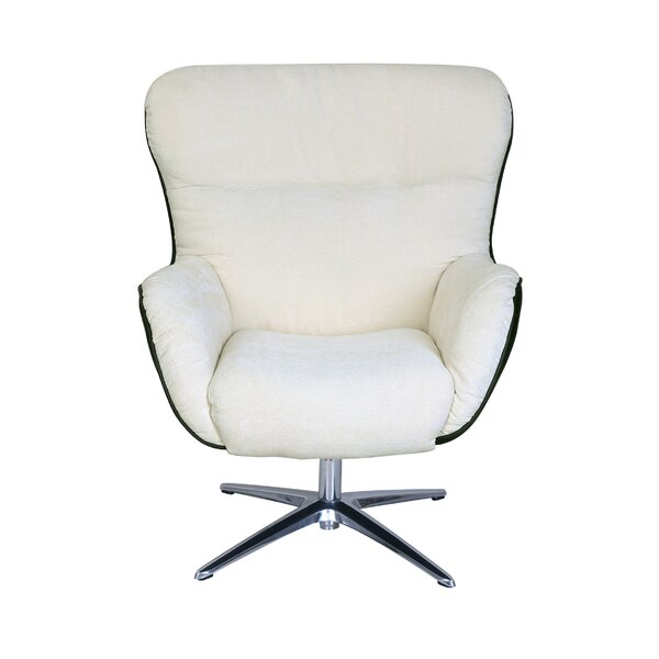 Rylie Collaboration Swivel Armchair by Serta at Home