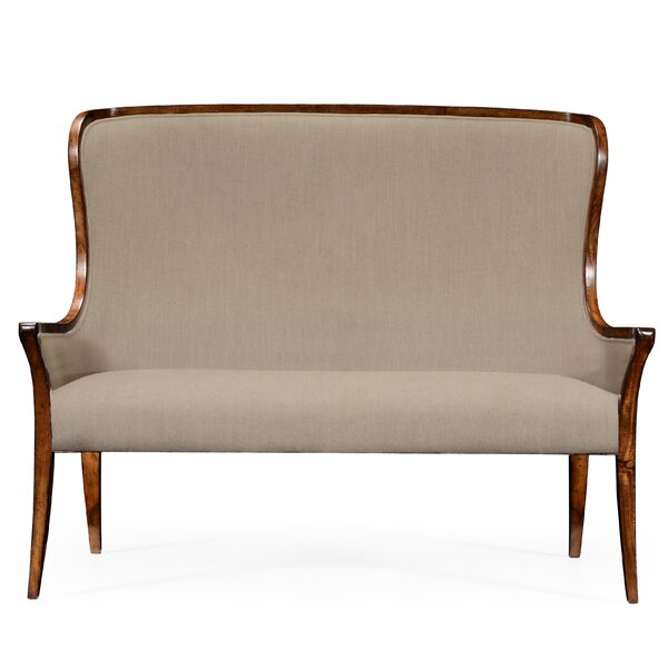 Curved Settee by Jonathan Charles Fine Furniture