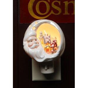 Santa House Plug-In Night Light
