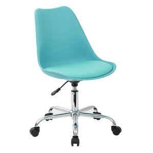 Green Desk Chairs green office chairs you'll love | wayfair